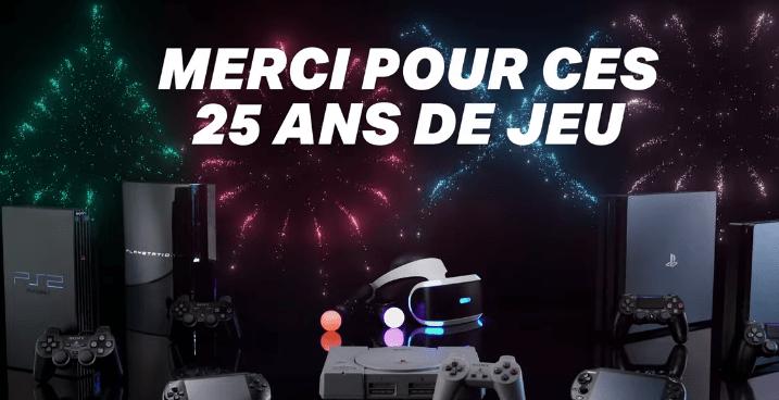25 ans PlayStation