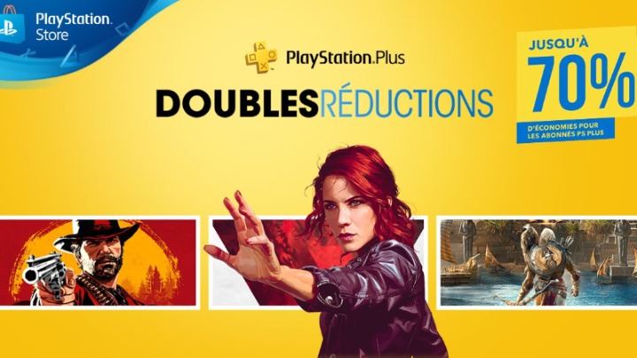 PlayStation Store Doubles Réductions