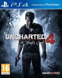 Uncharted 4 jaquette