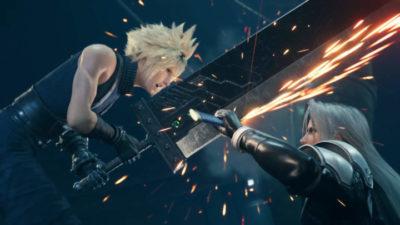 Final Fantasy VII Remake fond