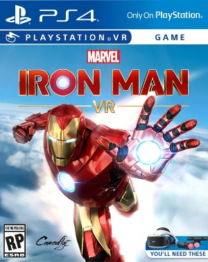 Marvel's Iron Man VR jaquette