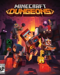 Minecraft : Dungeons jaquette