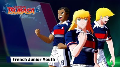Captain Tsubasa Rise of New Champions équipe de France