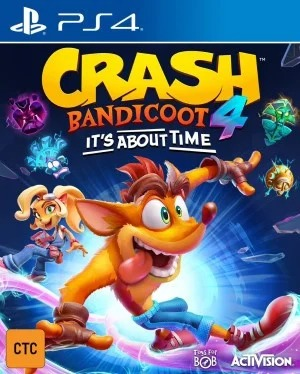 Crash Bandicoot 4 : It's About Time jaquette
