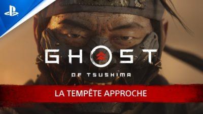 Ghost of Tsushima tempête bande-annonce