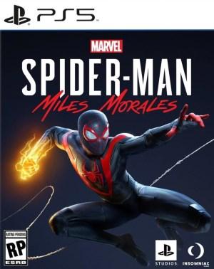 Marvel's Spider-Man Miles Morales jaquette