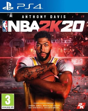 NBA 2K20 jaquette