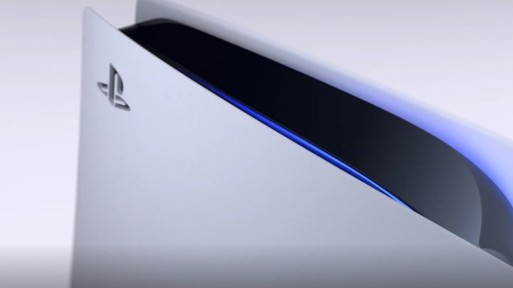 PS5 haut côté