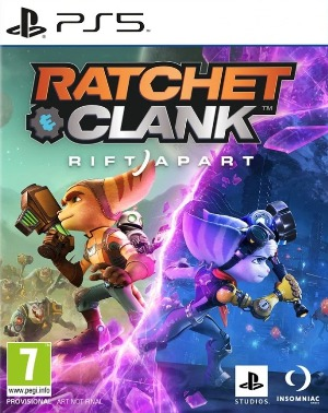 ratchet and clank rift apart jaquette