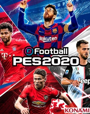 eFootball PES 2020 jaquette