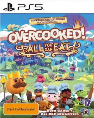 Overcooked : All You Can Eat jaquette