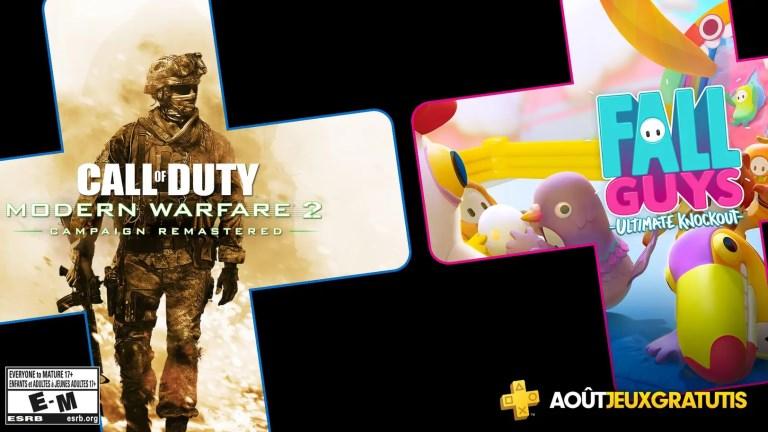 PS Plus jeux offerts août 2020