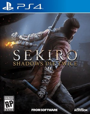 Sekiro Shadows Die Twice jaquette