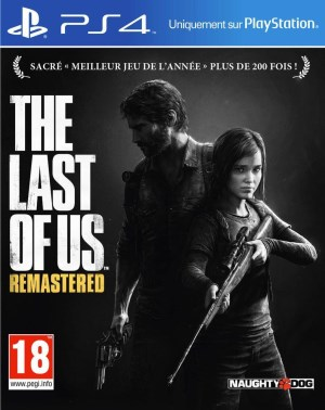 The Last of Us Remastered jaquette