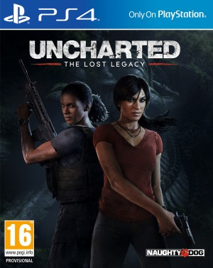 Uncharted : The Lost Legacy jaquette