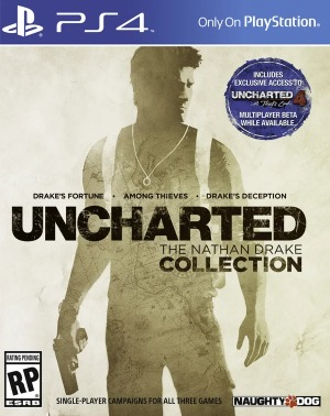 Uncharted : The Nathan Drake Collection jaquette