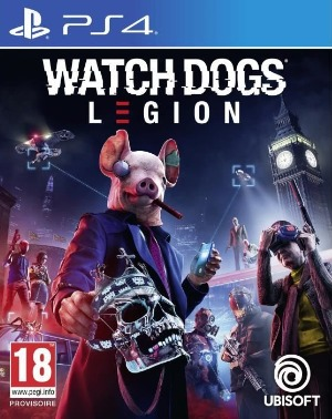 Watch Dogs Legion jaquette