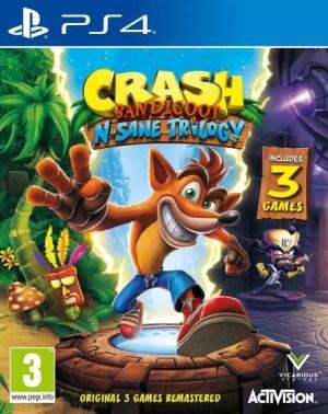 Crash Bandicoot N. Sane Trilogy jaquette