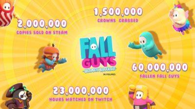 Fall Guys chiffres