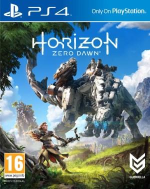 Horizon Zero Dawn jaquette