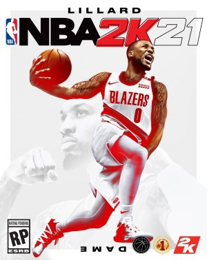NBA 2K21 jaquette