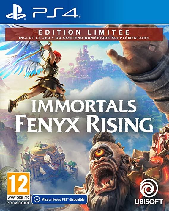 Immortals Fenyx Rising jaquette