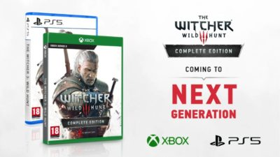 The Witcher 3 ps5