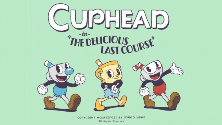 cuphead dlc delicious last course
