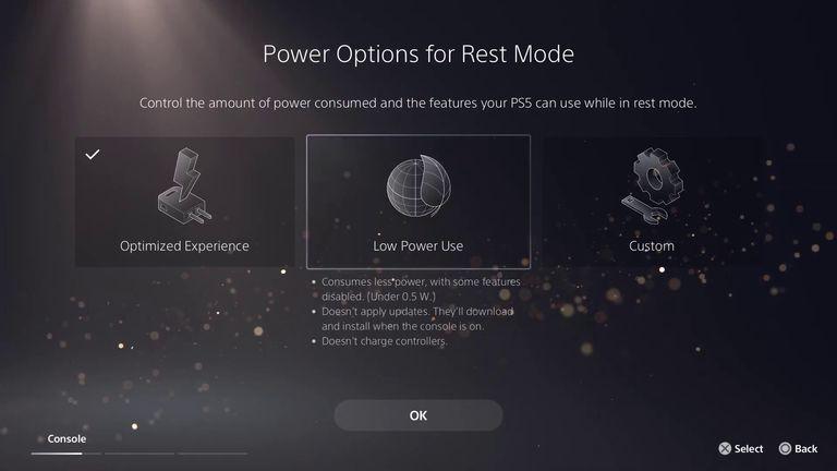PS5 Menu