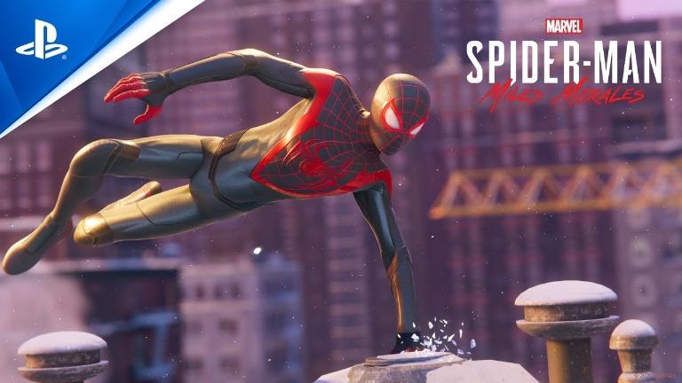 spider man miles morales lancement