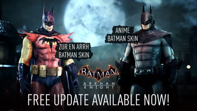 batman arkham knight 1.15 costumes