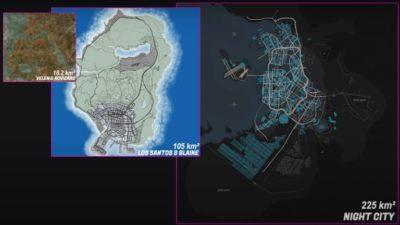 cyberpunk 2077 carte estimation