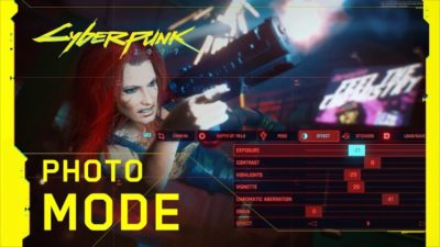 cyberpunk 2077 mode photo