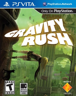 gravity rush jaquette