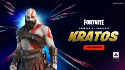 kratos fortnite god of war