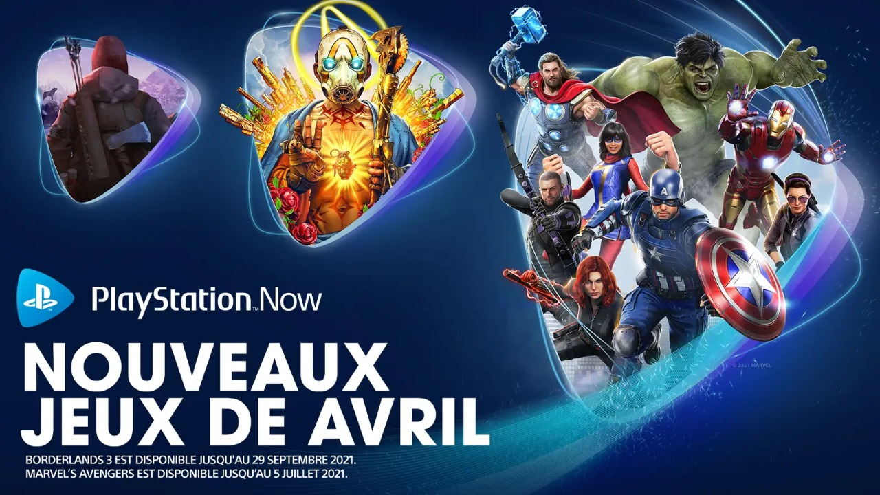ps now avril 2021