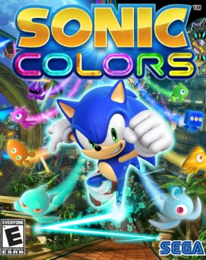 sonic colors utlimate jaquette