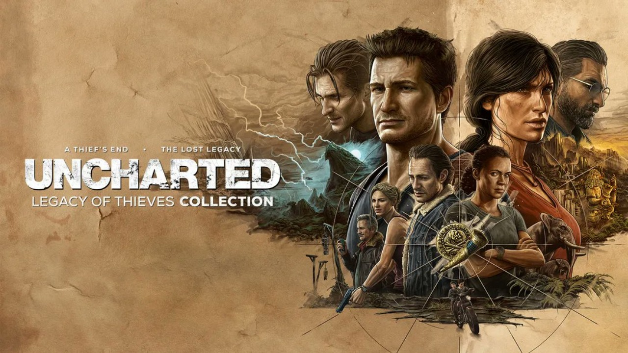 uncharted legacy of thieves collection